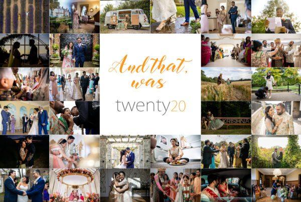 Best of 2020 wedding photographs header