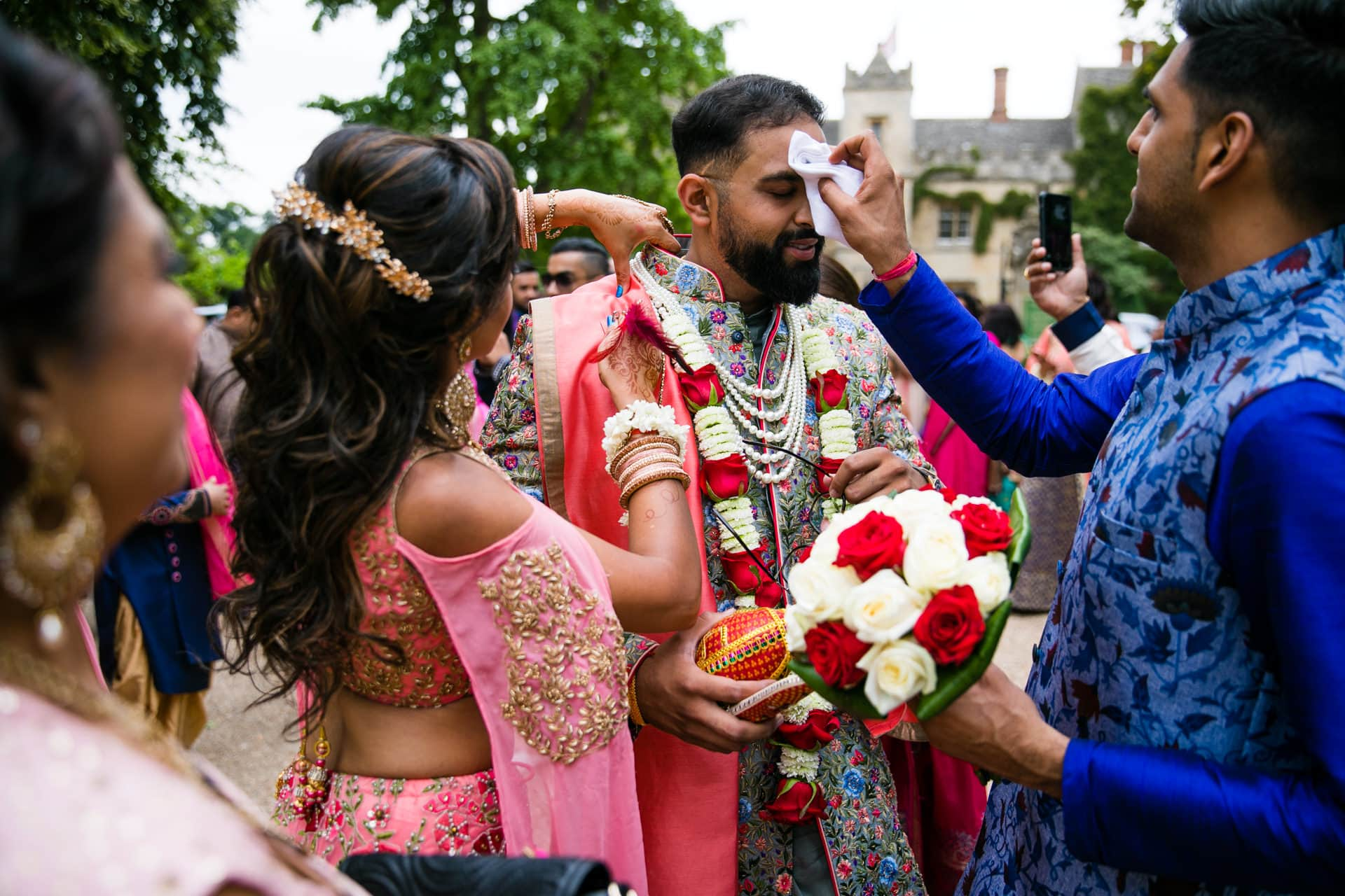 Asian Wedding groom