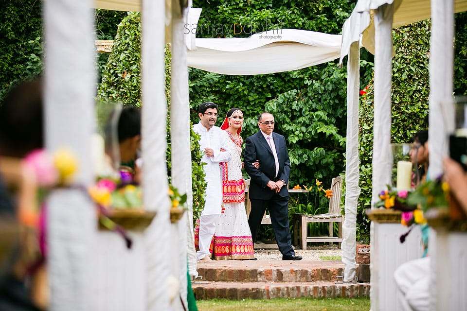 Asian Wedding Bridal arrival