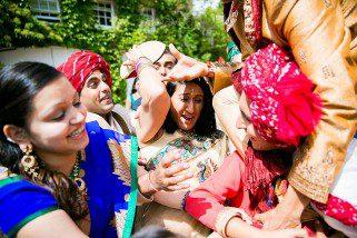 Shoe steeling during asian Wedding