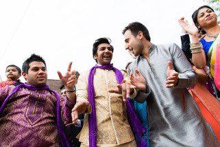 Arrival of Asian Wedding groom