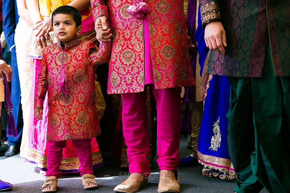 Nephew of groom