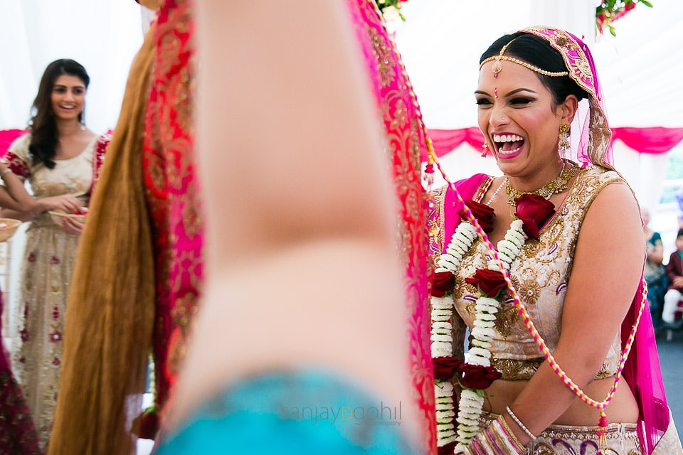 Phera ceremony during Asian Wedding