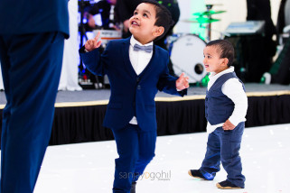 Asian Wedding guests