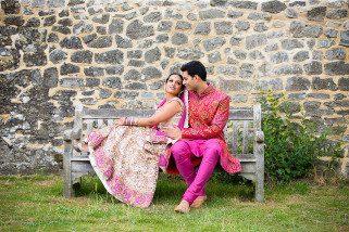 Hindu Wedding portrait session