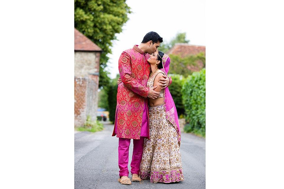 Gujarati wedding portrait session