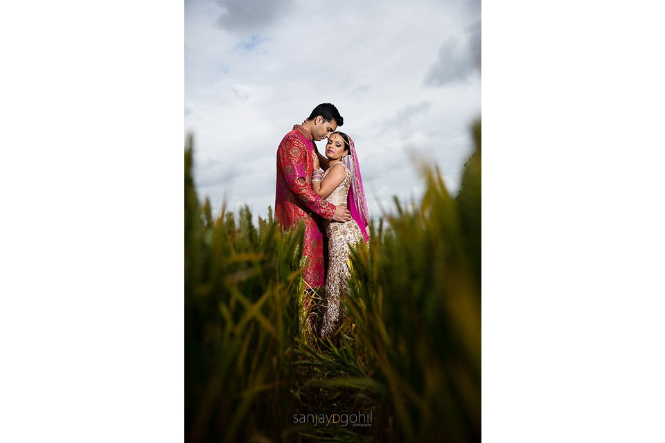 Asian wedding portrait session