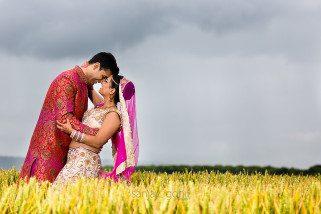 Asian wedding portrait session