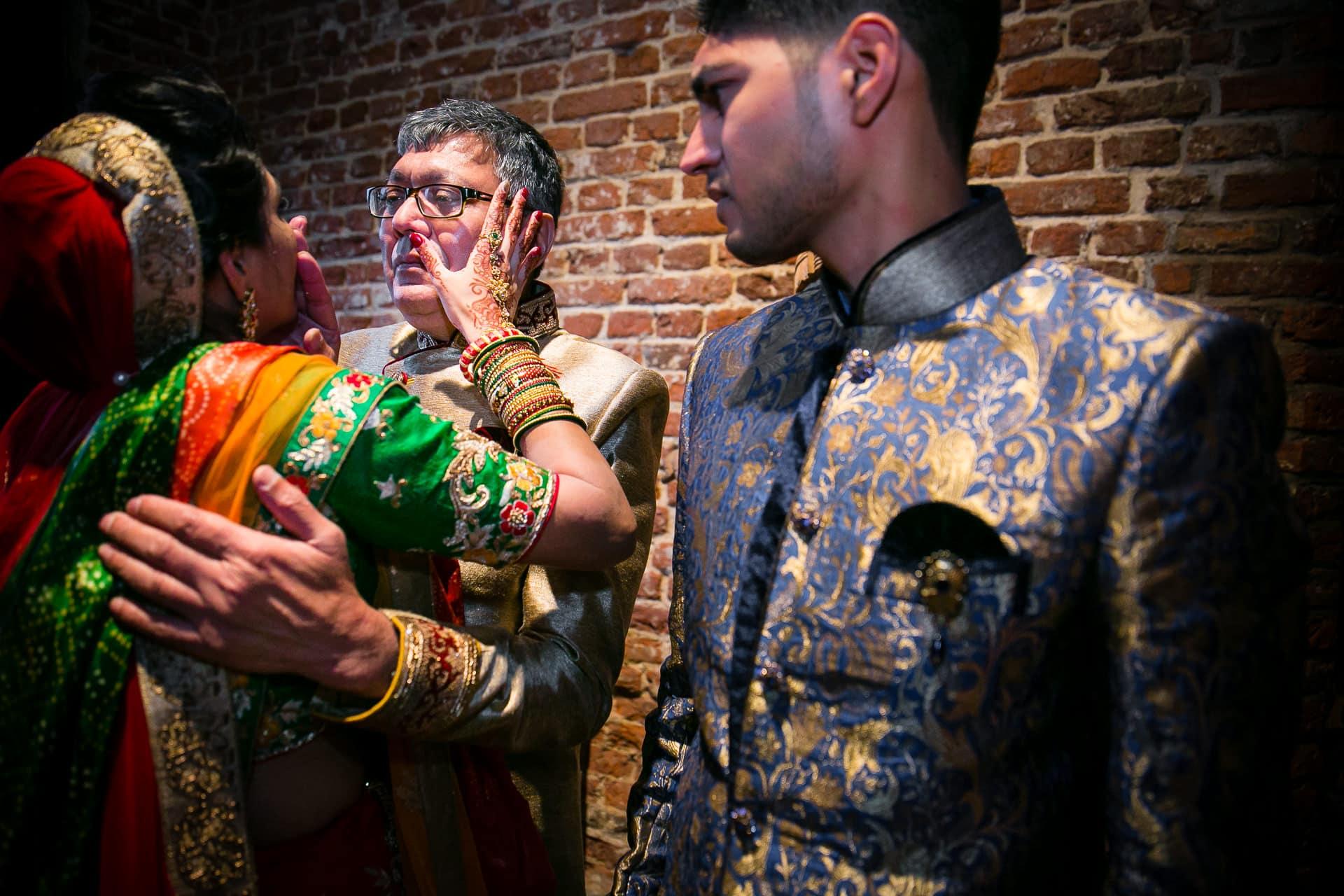 Gujarati Vidhai ceremony