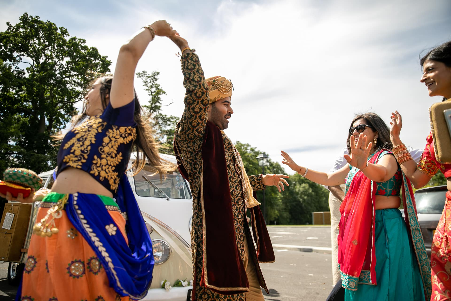 Arrival of the groom at The Haveli