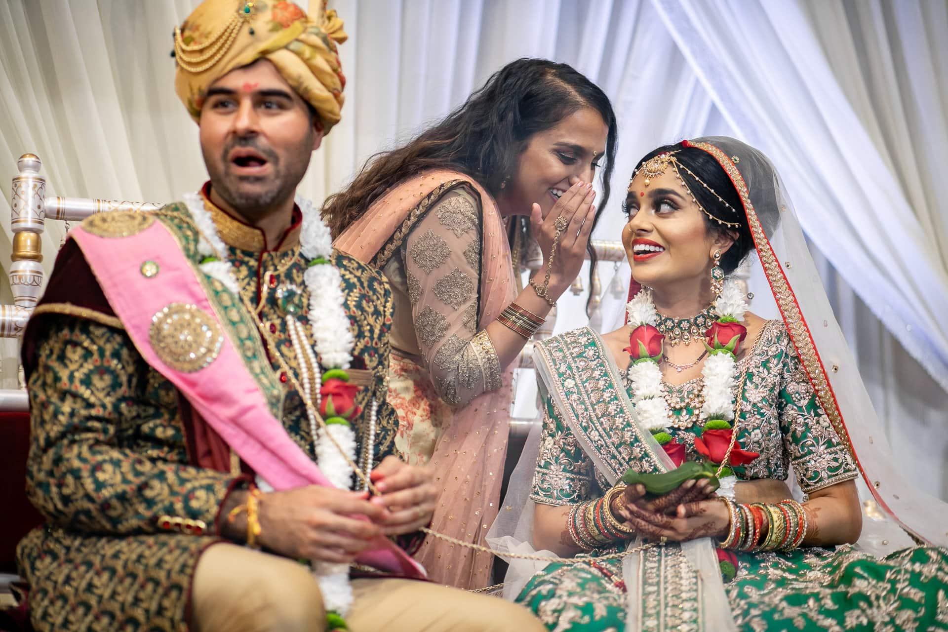 Hindu wedding ceremony at The Haveli
