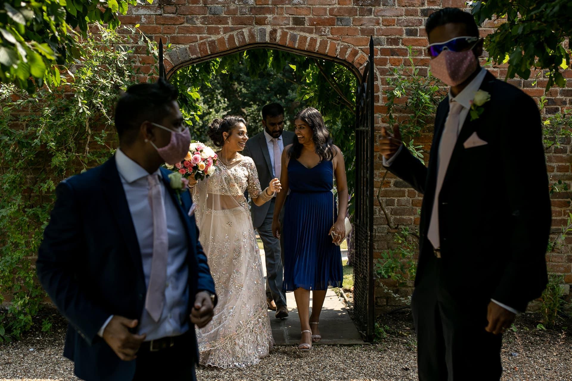 Wedding guest at Civil wedding