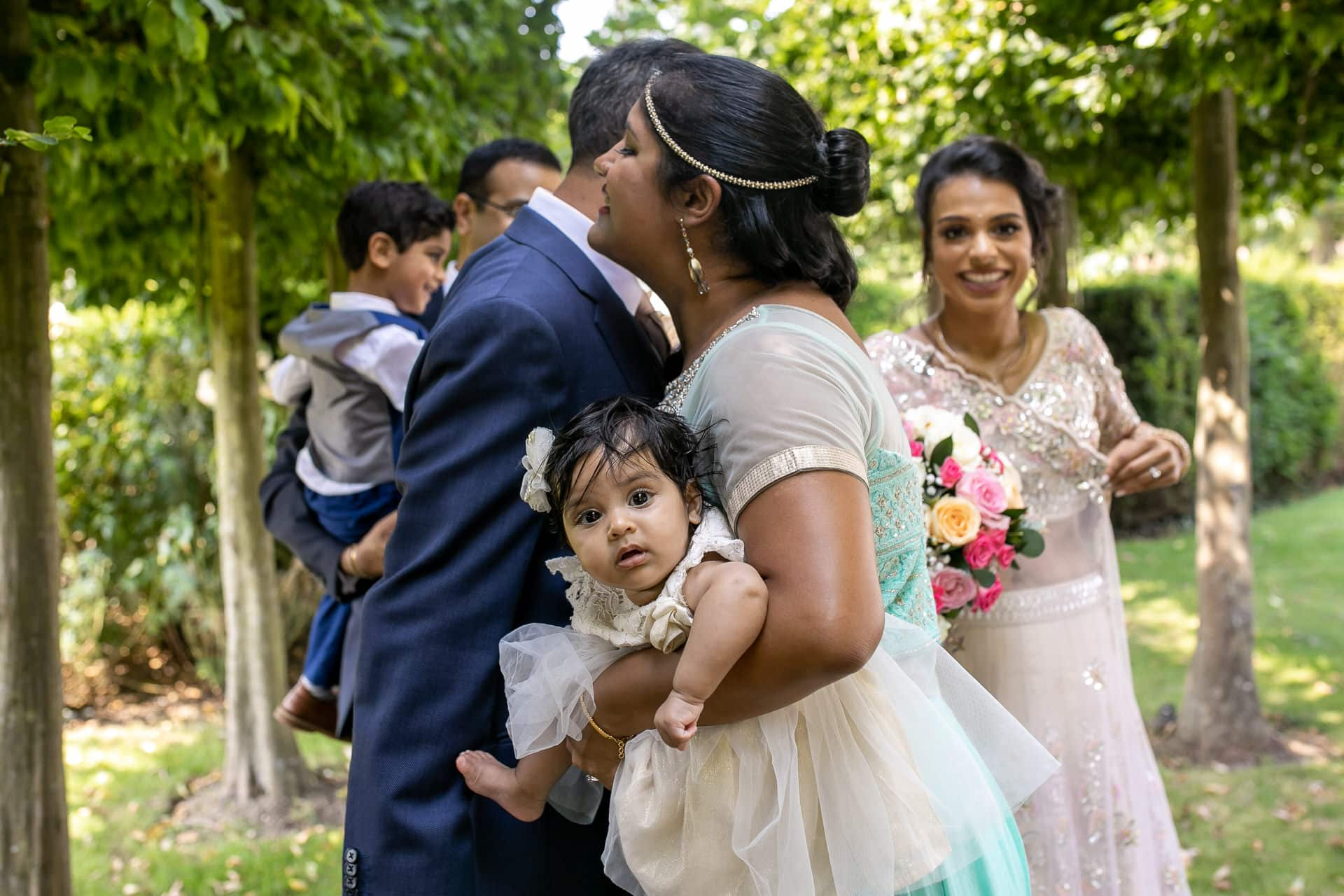 Hugs after Civil wedding