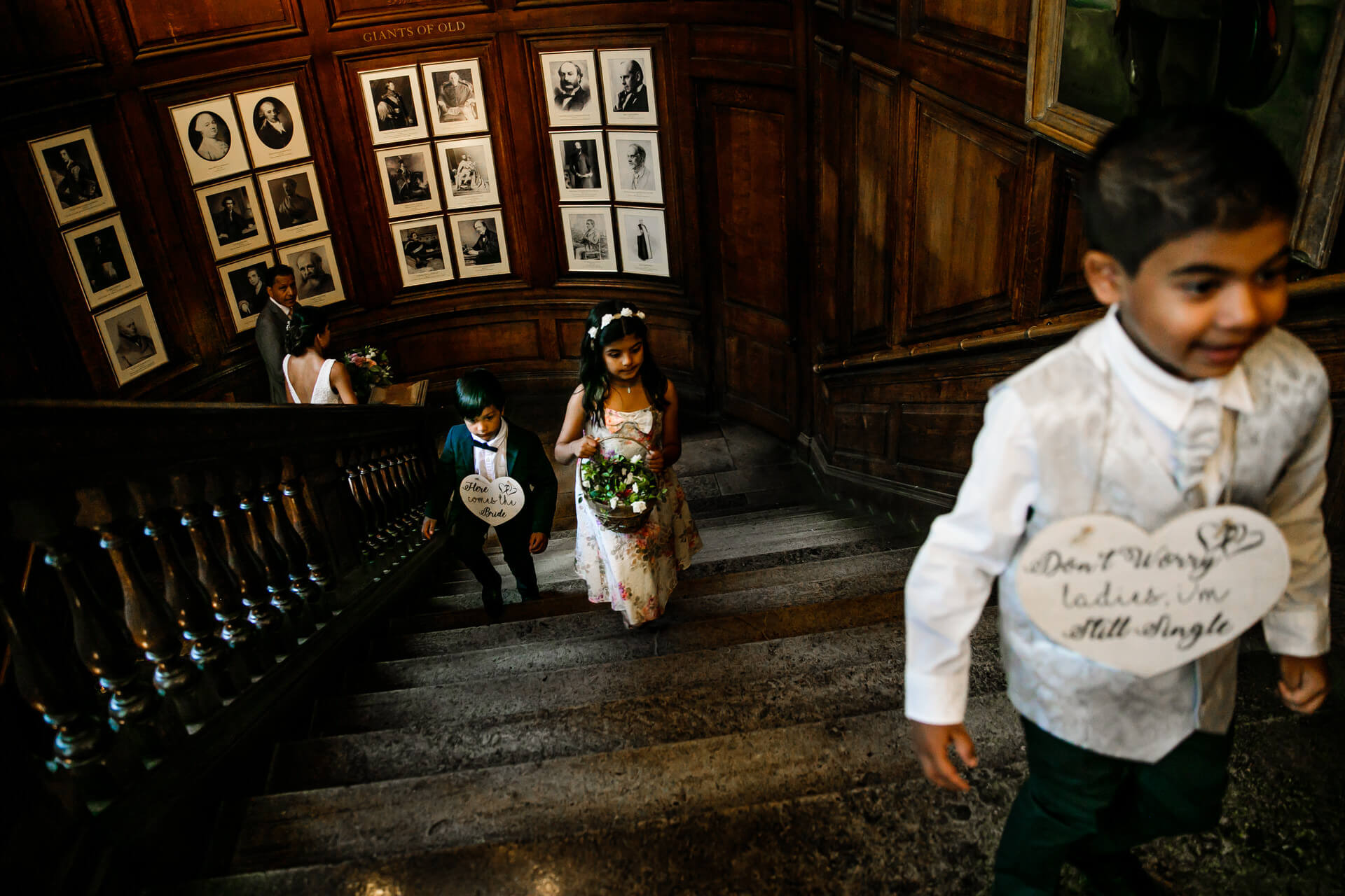 Harrow School Registry wedding ceremony