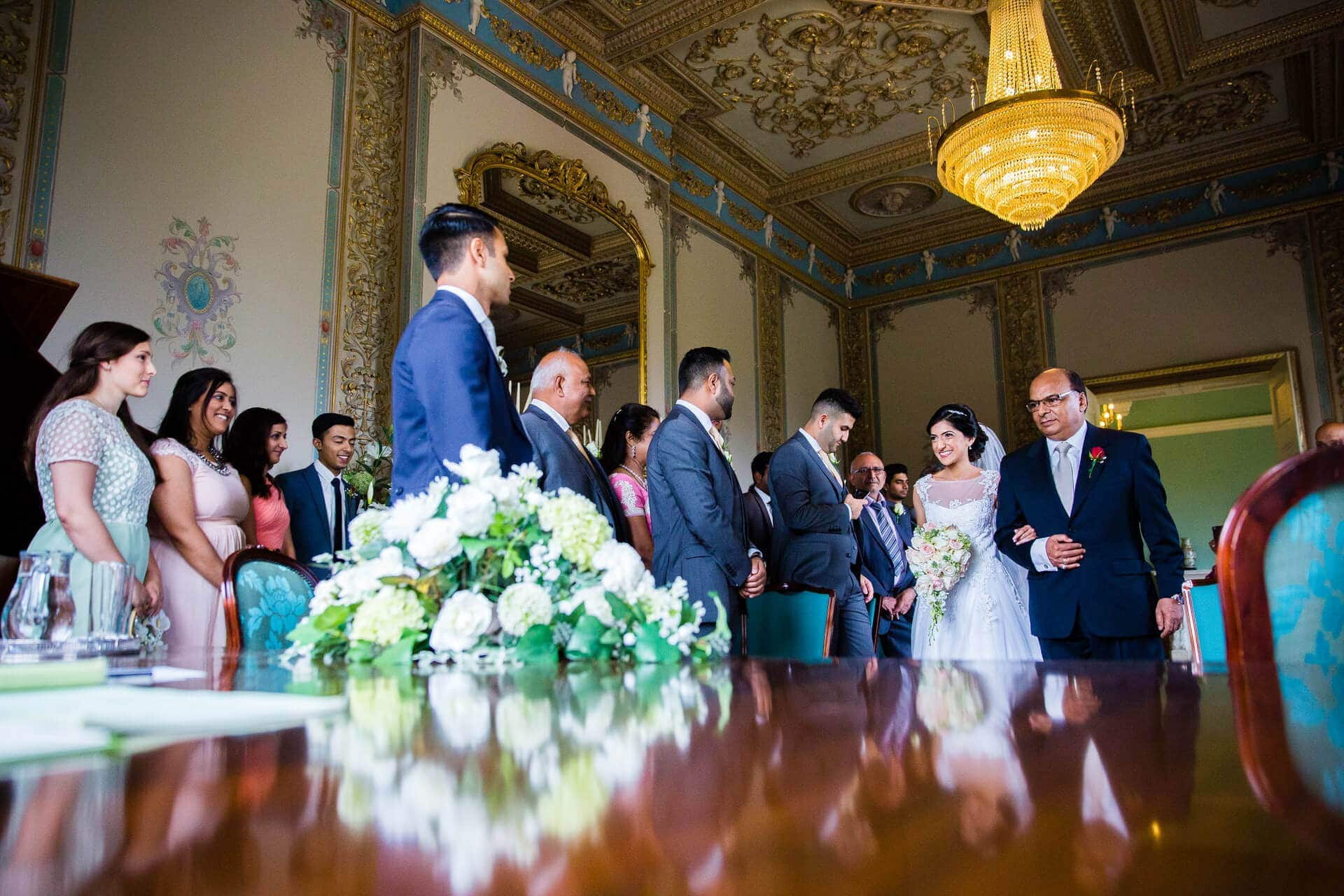 Hylands House Civil wedding ceremony