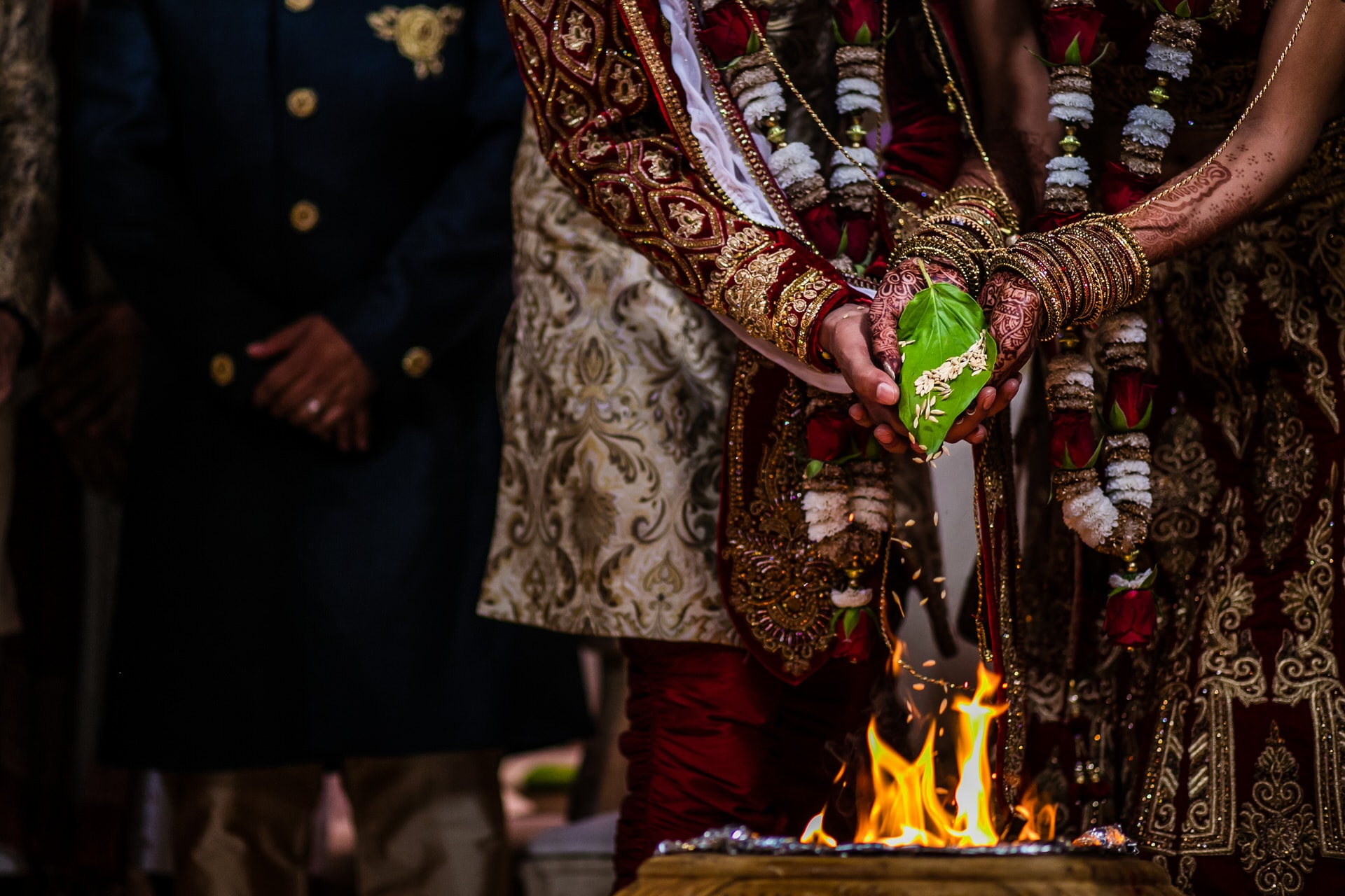 Phera ceremony during Hindu Wedding