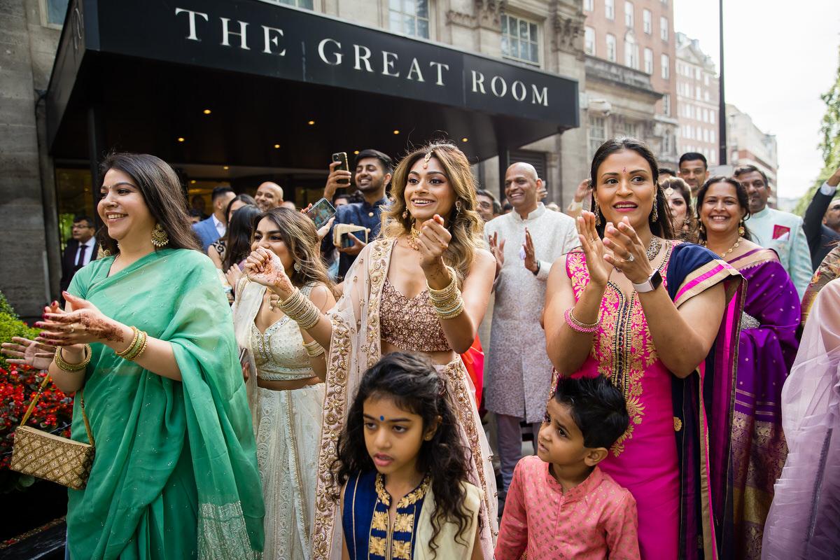 Hindu wedding at Grovesnor House London