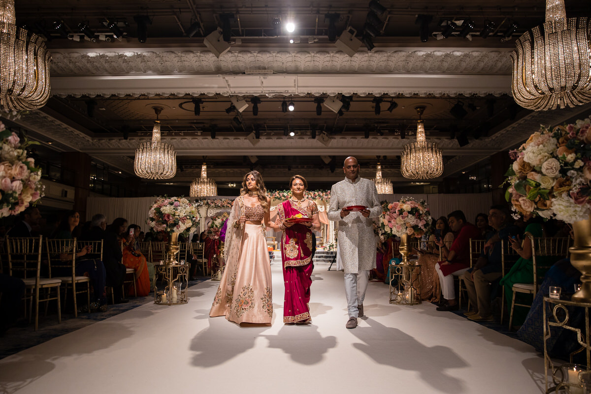 Hindu wedding ceremony at Grosvenor House