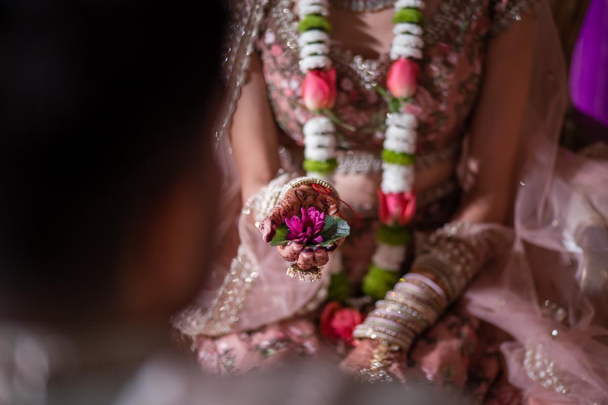 Asian wedding details