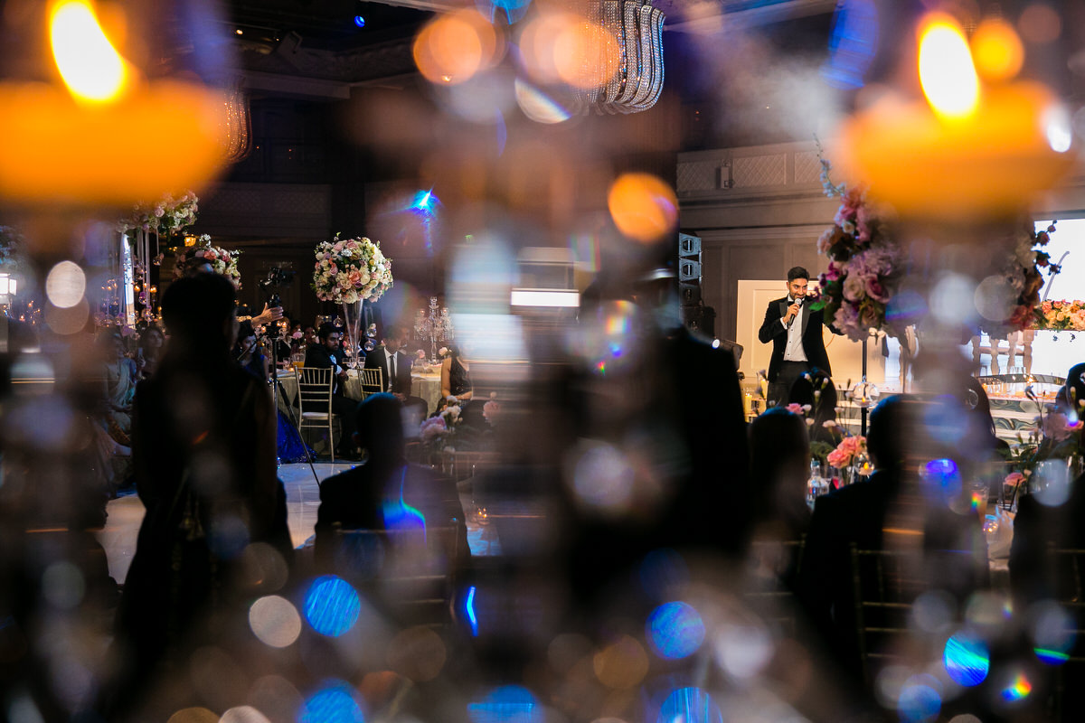 Wedding reception at Grosvenor House