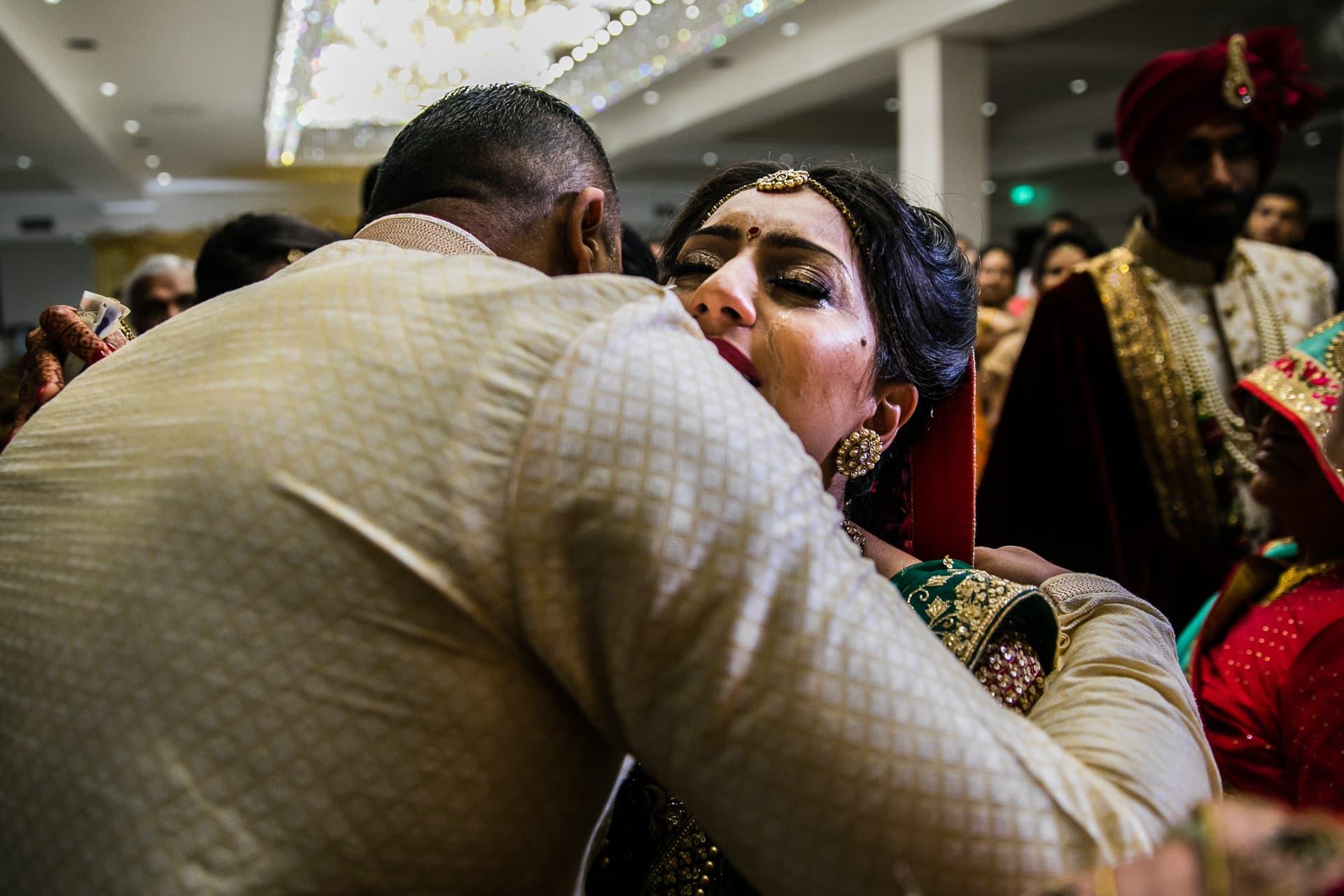 Emotional vidhai, leaving ceremony