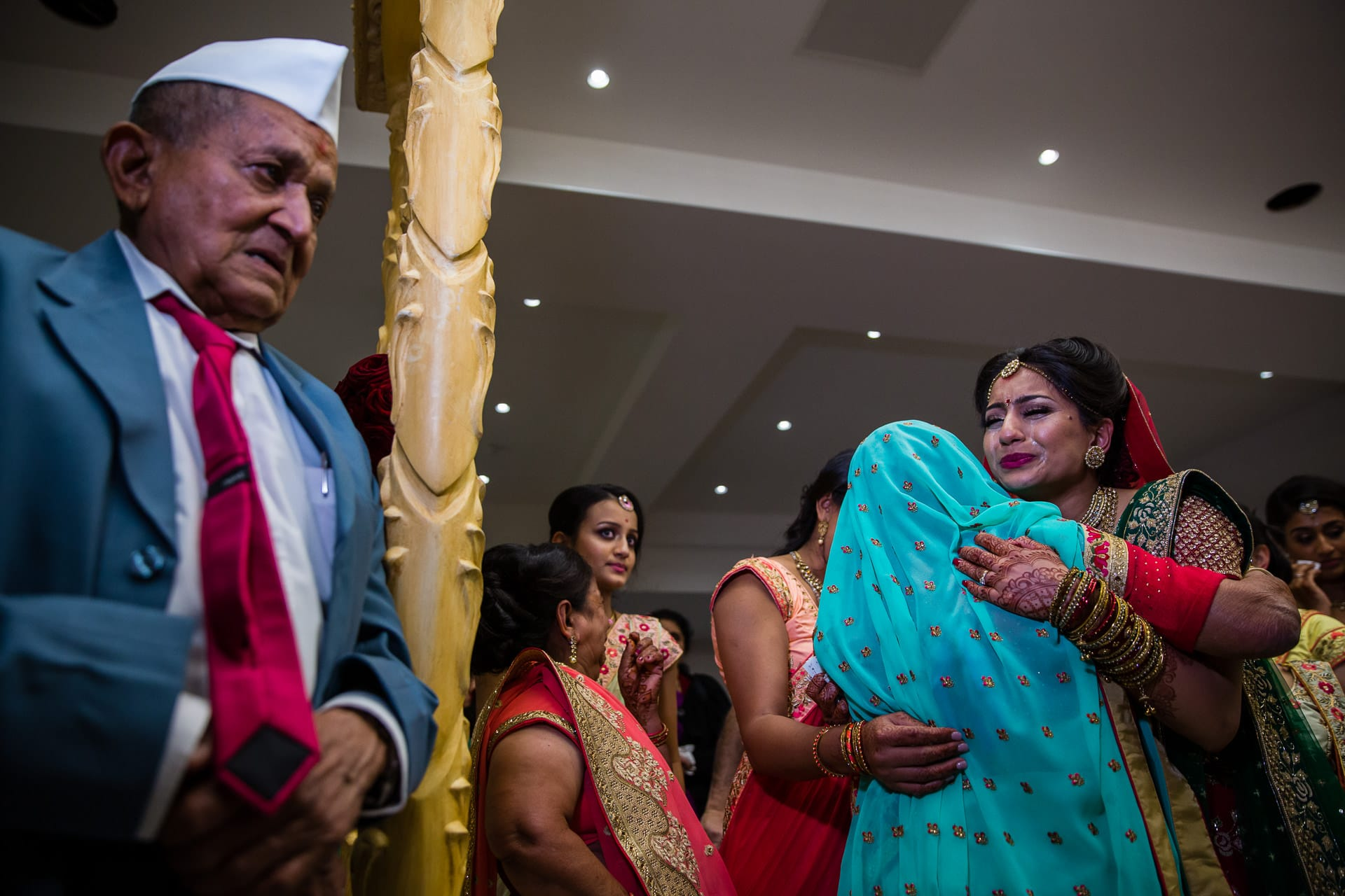 Emotional vidhai, leaving ceremony