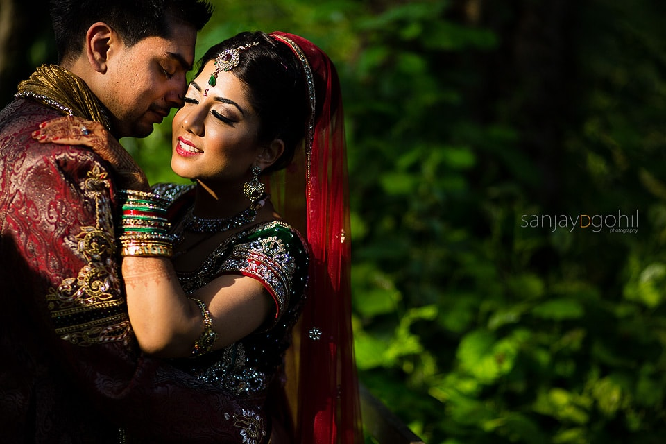 Hare Krisha Mandir Wedding Portrait