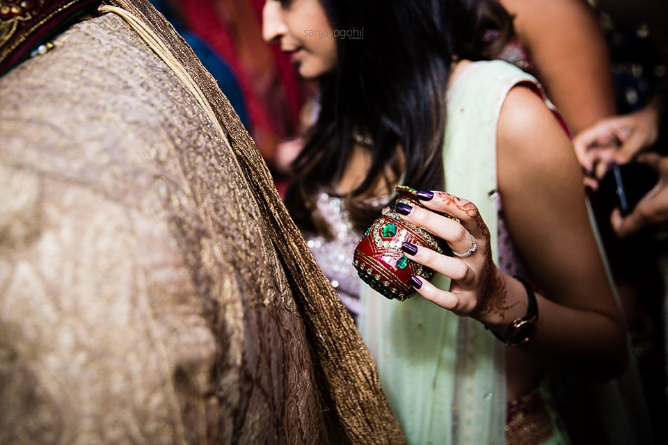 Detail shot during Hindu Wedding