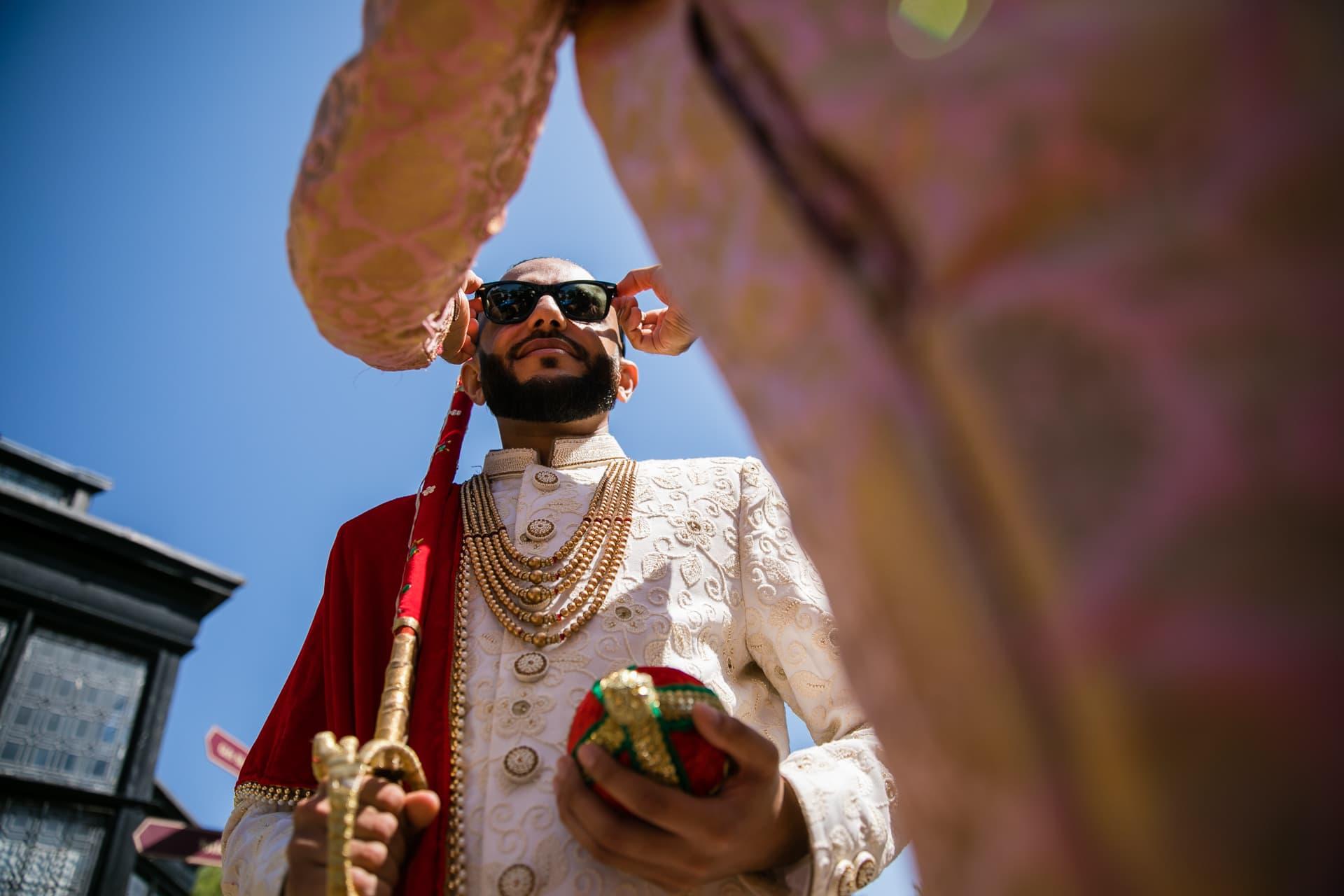 Asian Wedding groom