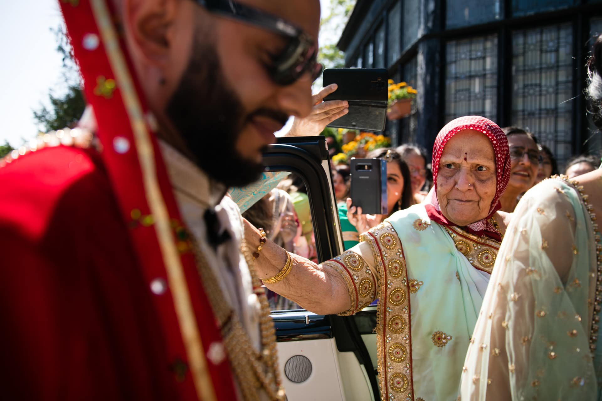 Gran of the groom