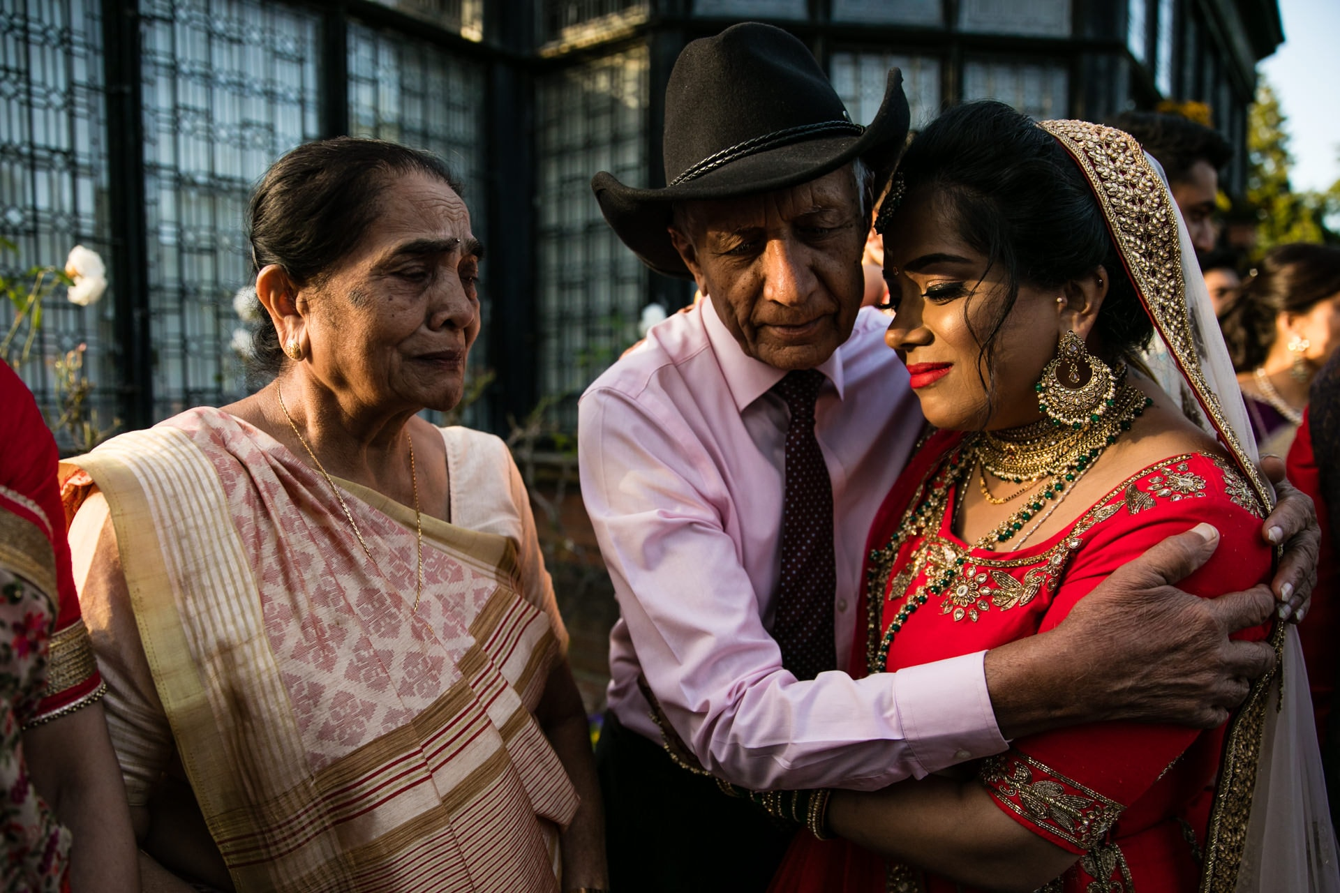 Vidha ceremony after Hindu wedding