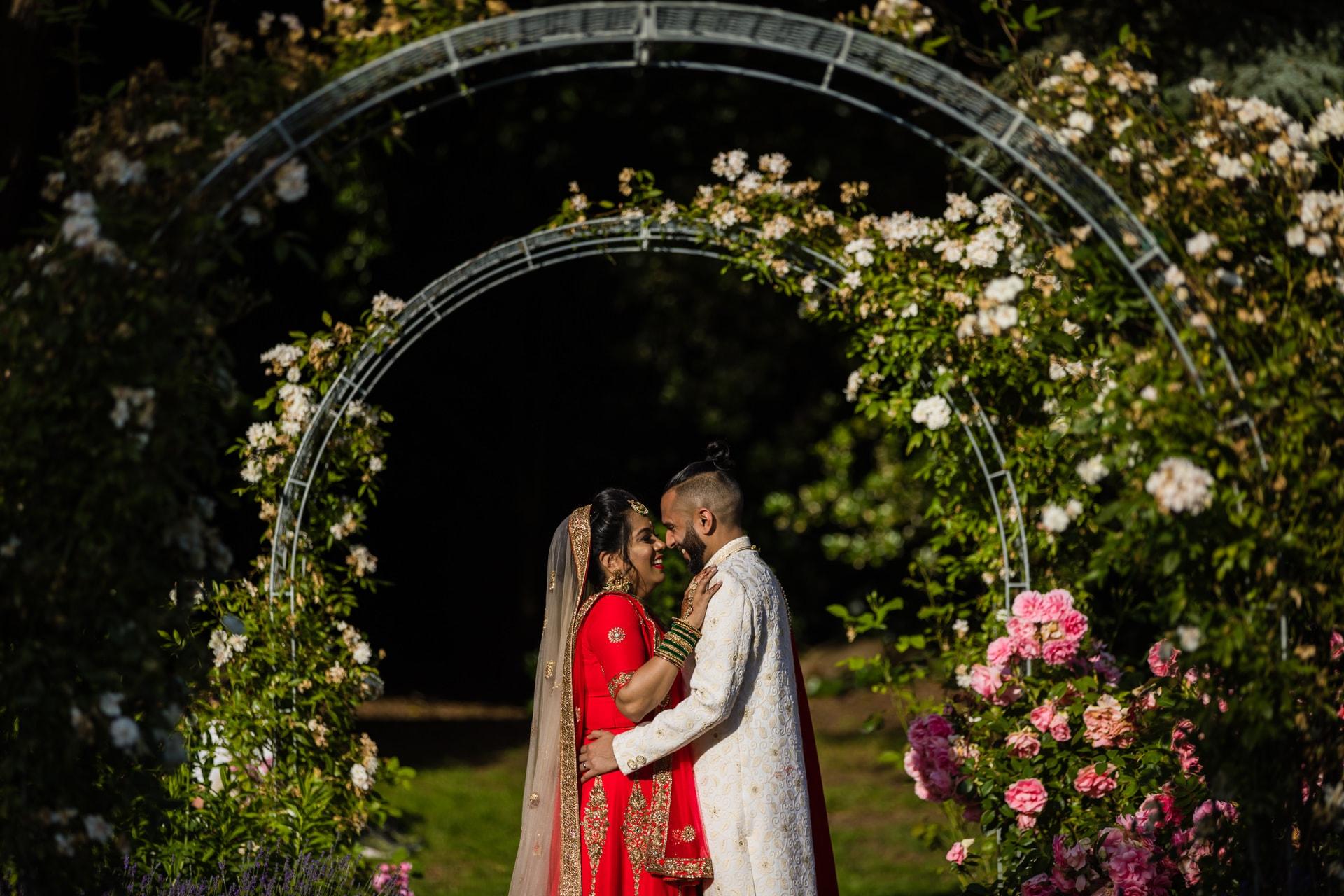 Hare Krishna Mandir Asian Wedding