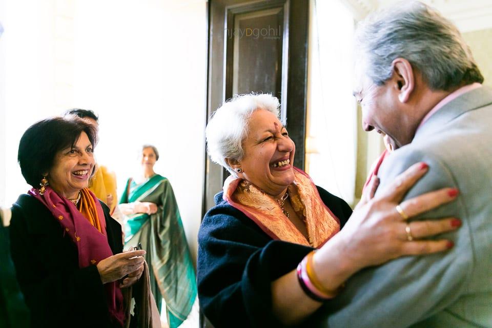 Hindu wedding guests