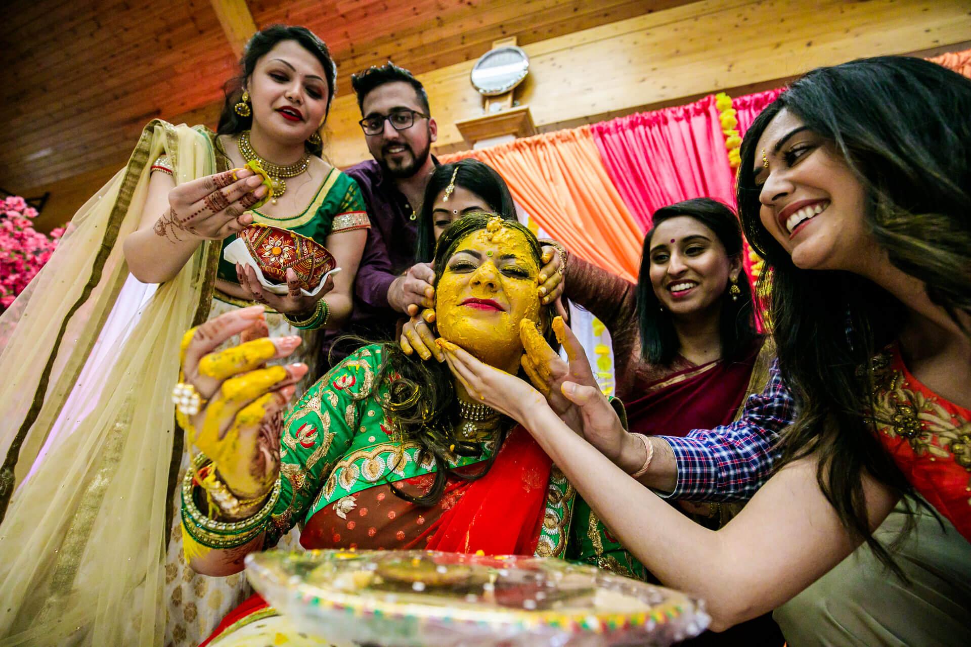 Peethi/Haldhi ceremony