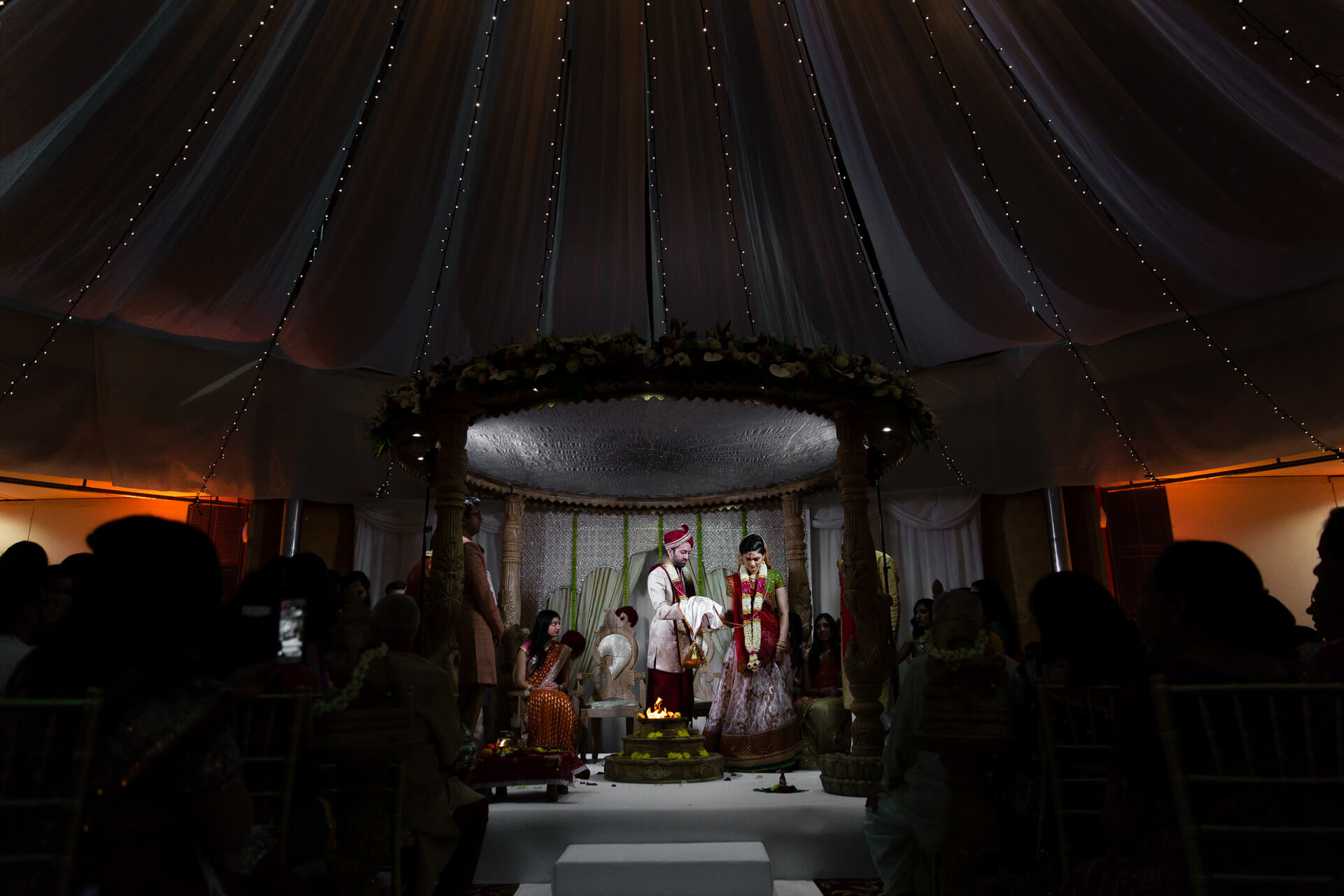 Hindu wedding at Saville Court