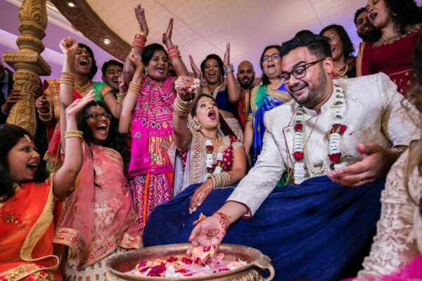 Hindu wedding photographs