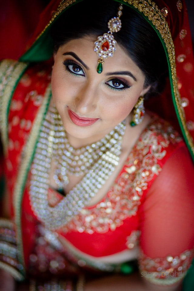 Asian Bridal Portrait by Sanjay D Gohil Photography