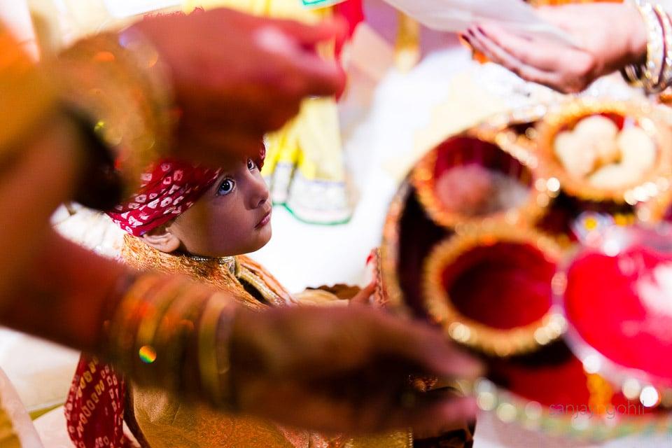 Asian Wedding guest