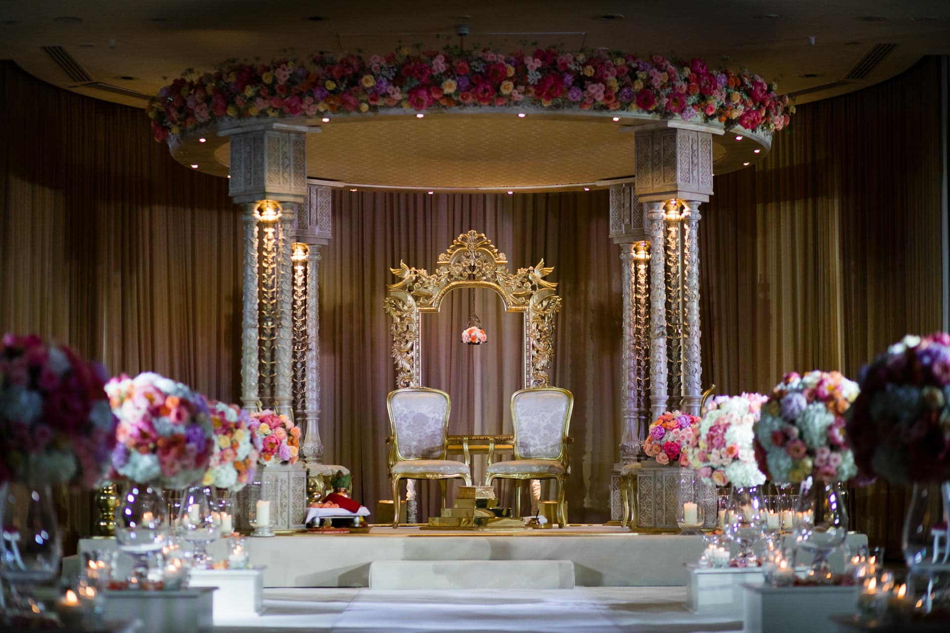 Jai and I Mandap Setup