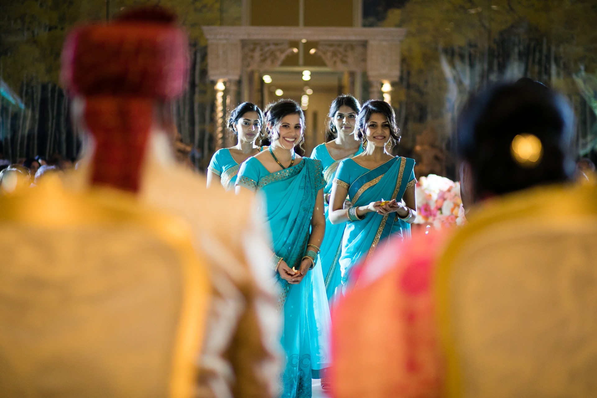 Bridal entrance party