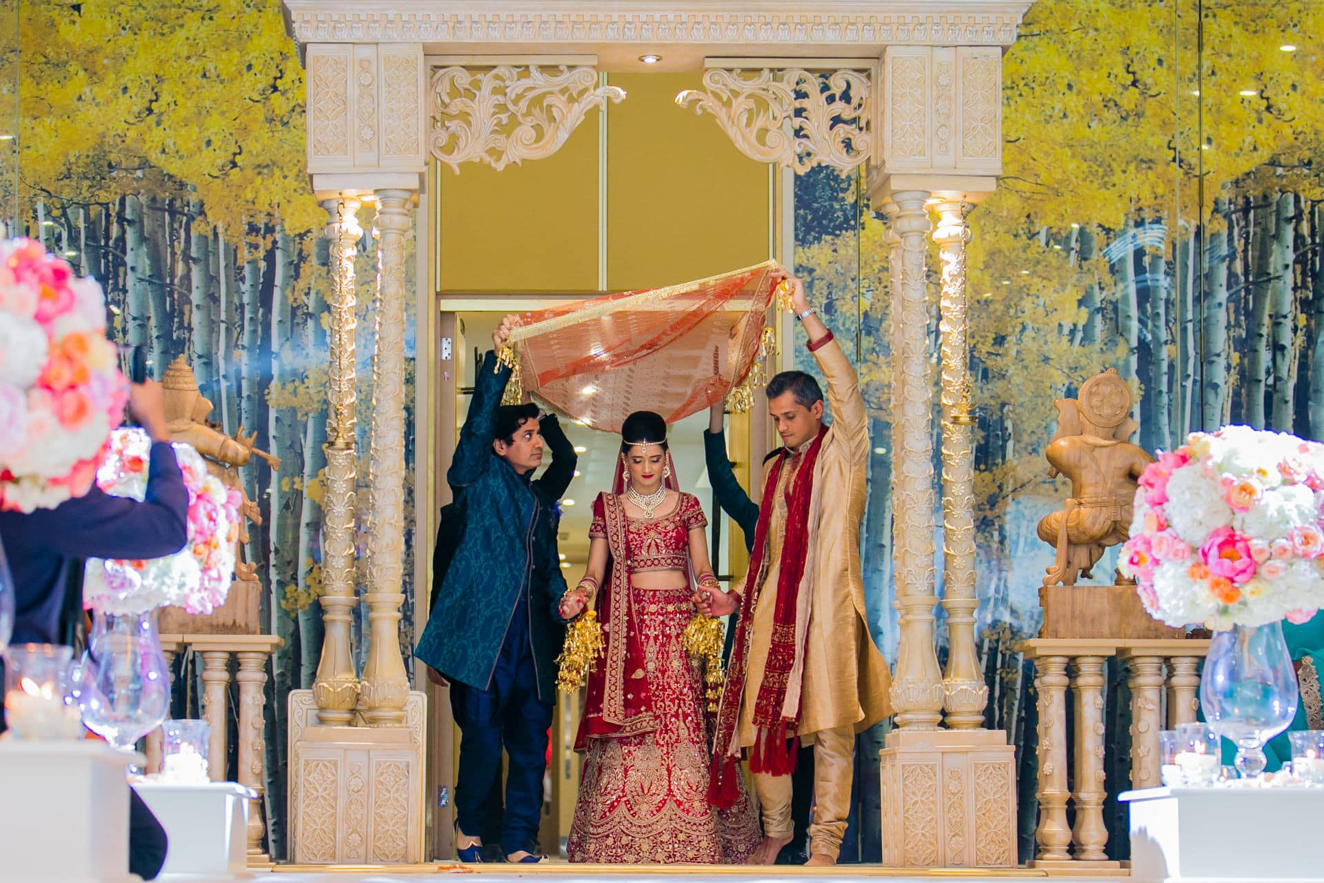 Hindu Bride entrance