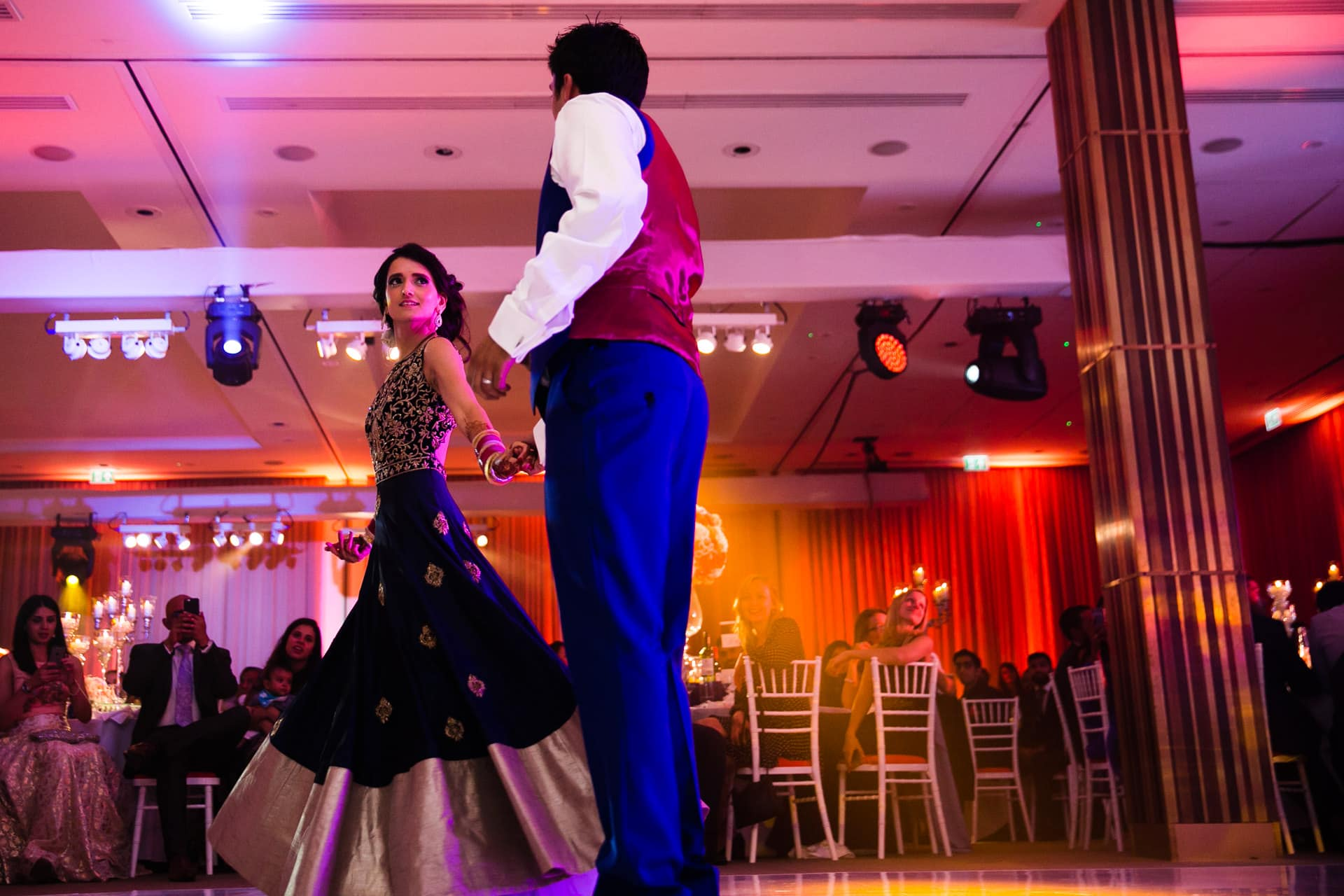 First Dance by Wedding couple