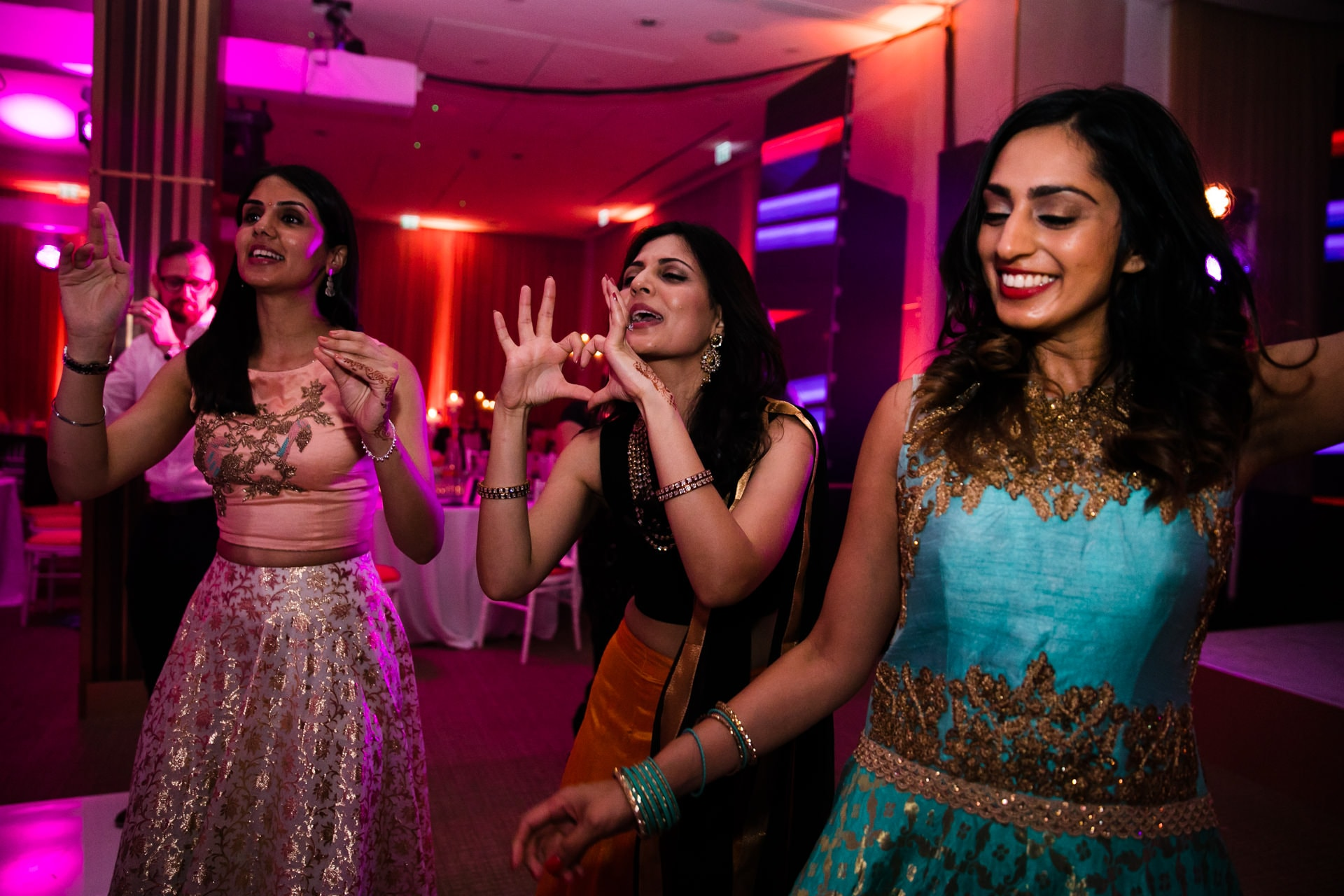 Wedding reception Party at The Grove, hosted by DJ Jas Johal of Kudos Music