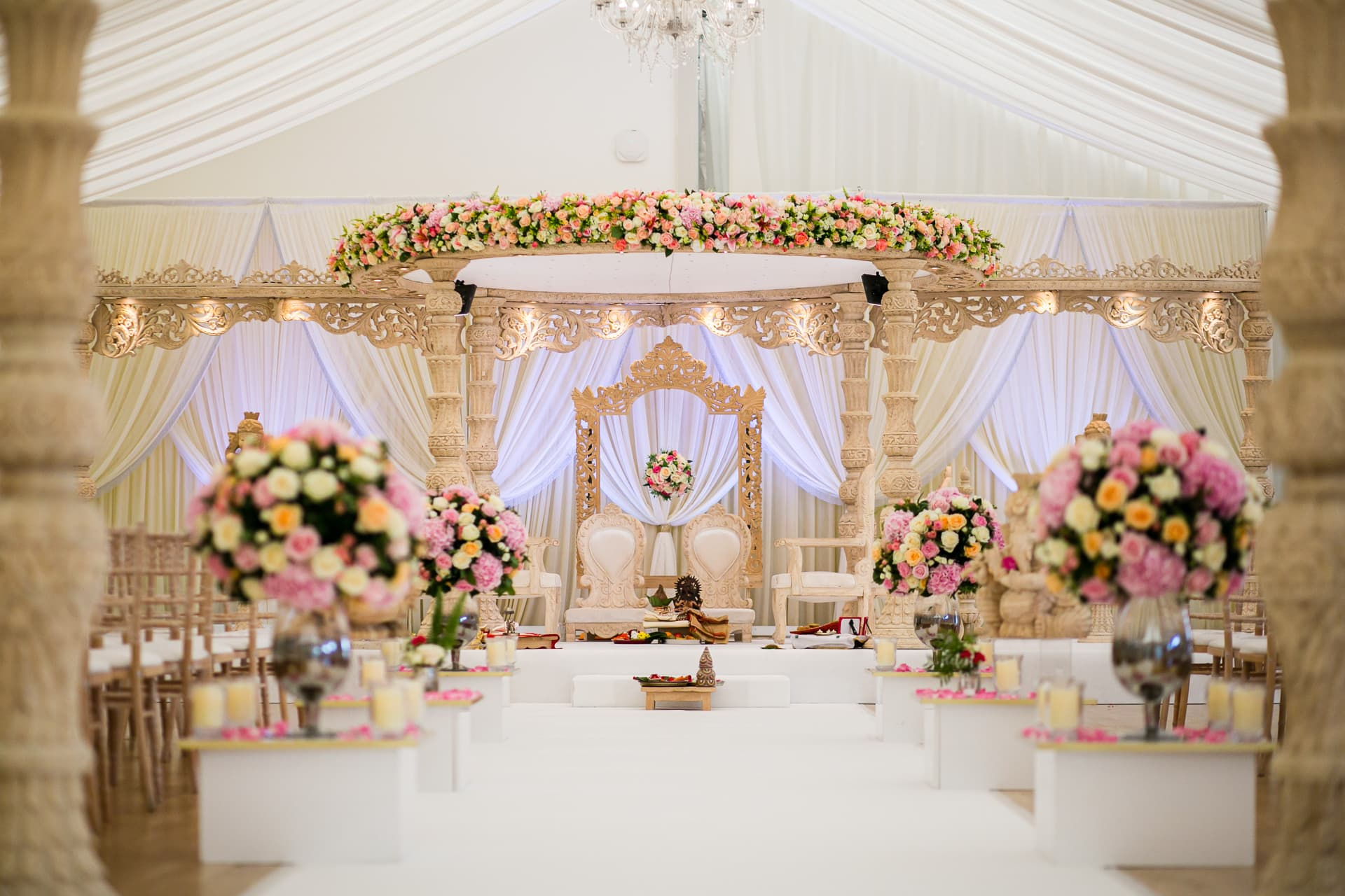Asian wedding decoration by Shagun Weddings