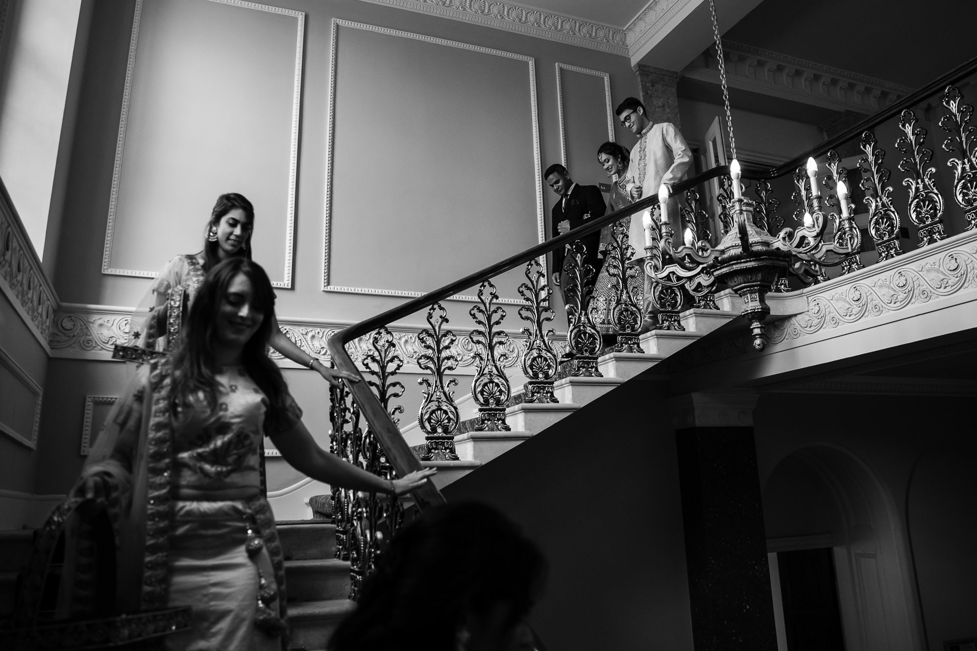 Asian wedding bride at Hylands House
