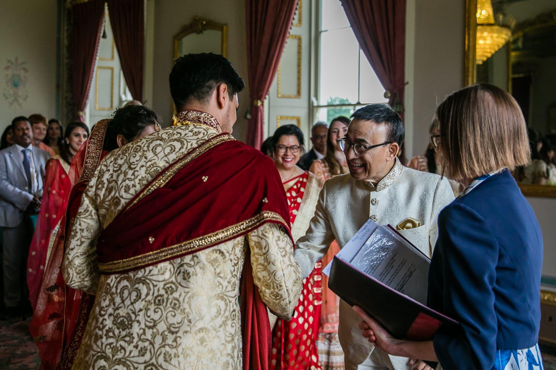 Civil ceremony at Hylands Estate