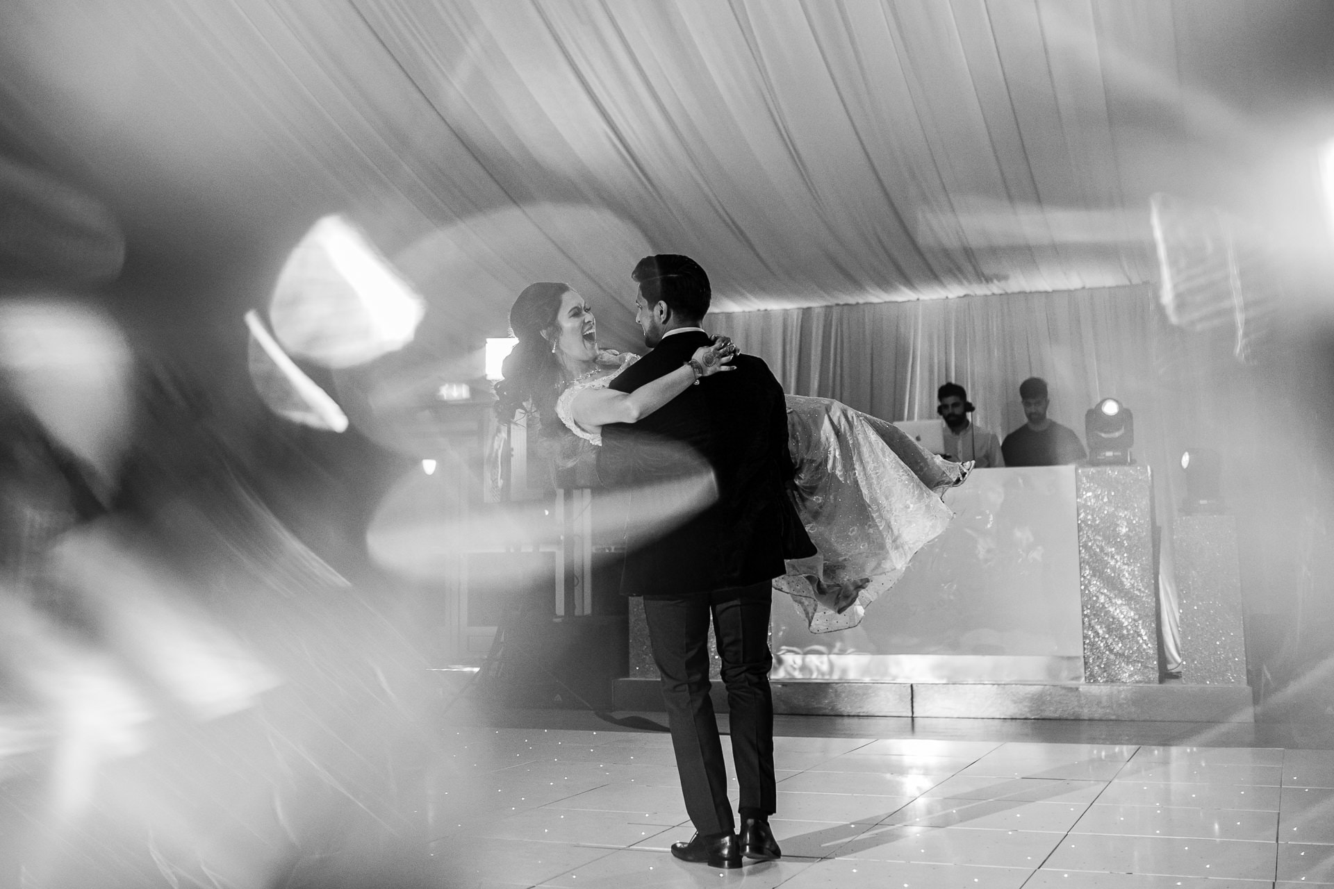 First dance at Hylands Estate
