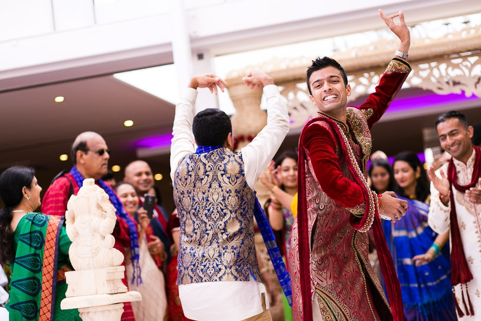 Best wedding groom's entrance