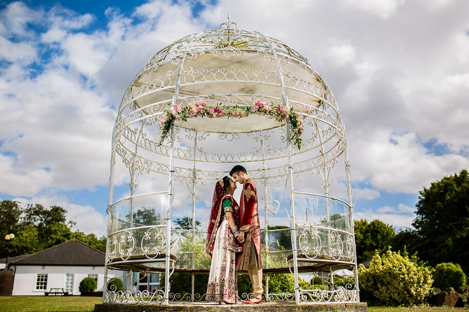 Darshna and Karan's Hindu Wedding at Manor of Groves