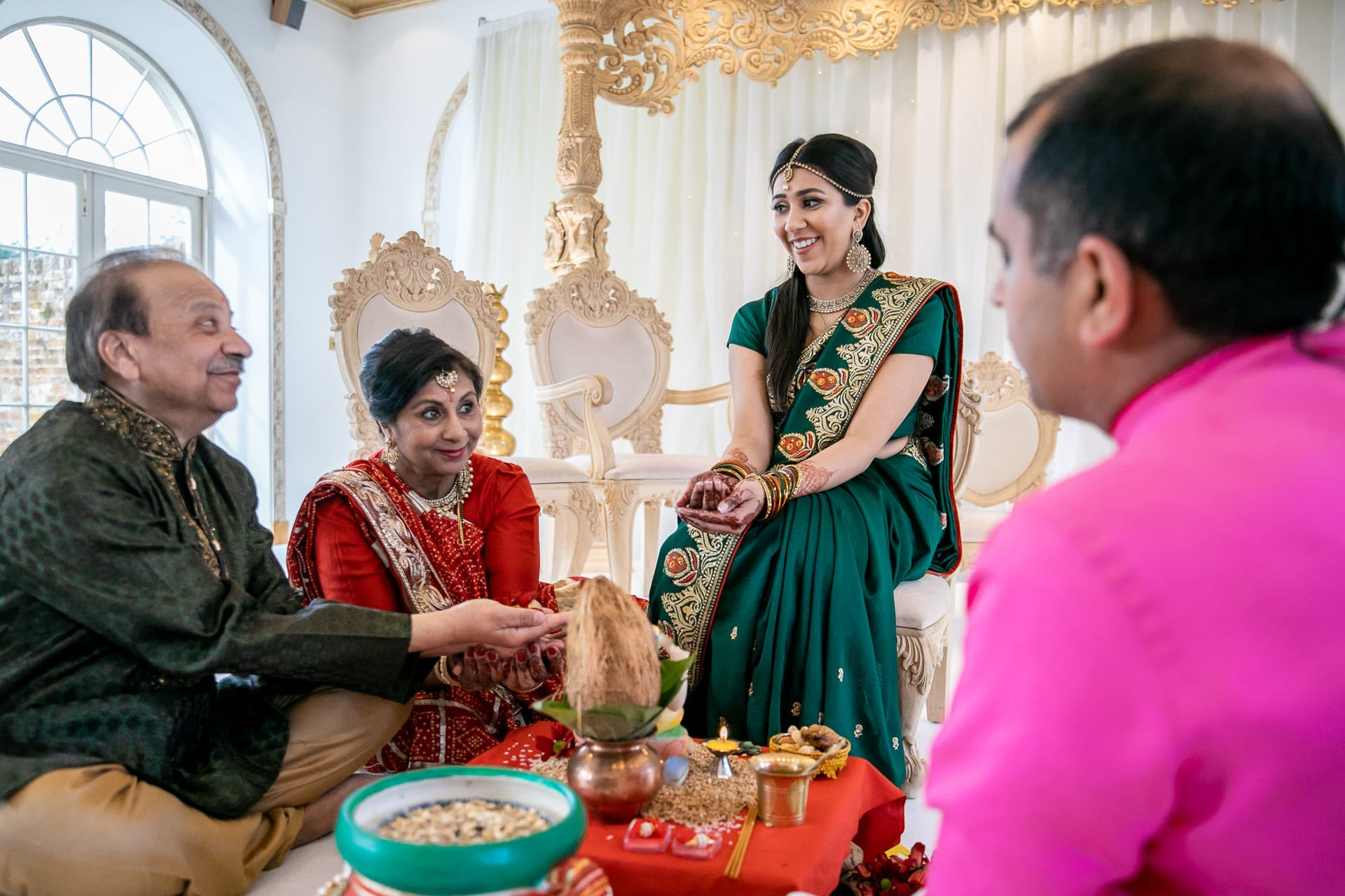 Manvho ceremony by Arjun Pandey